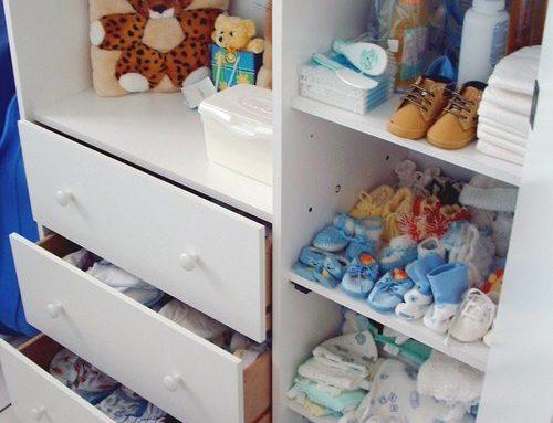 Att köpa kläder till en nyfödd
